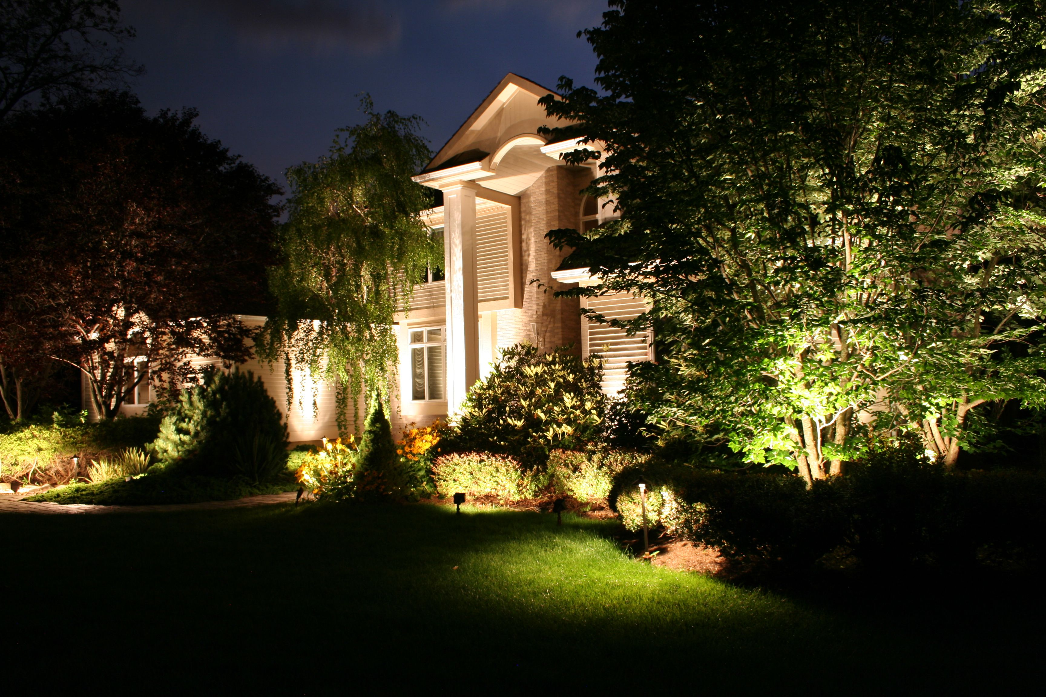 Landscape lighting manufacturer of solid bronze rugged premium-quality low voltage landscape lighting fixtures transformers wire bulbs and other outdoor ... & Michael Gotowala lighting designer at Preferred Properties ...