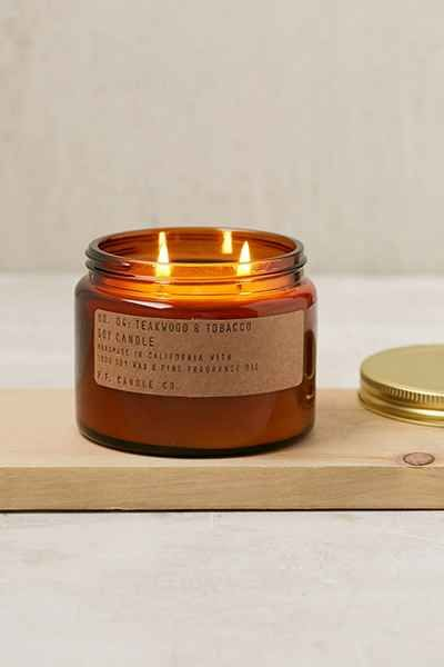 PF Candle Co. Double Wick Jar Candle - Urban Outfitters