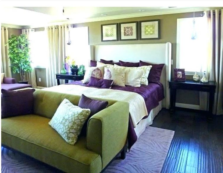 Purple And Green Bedroom Ideas Green Master Bedroom Green