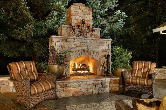 Outdoor Fireplace Designs Outdoor Fireplaces Expert Design