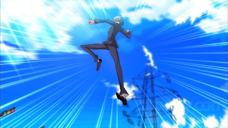 Image result for anime fighting jumping with images