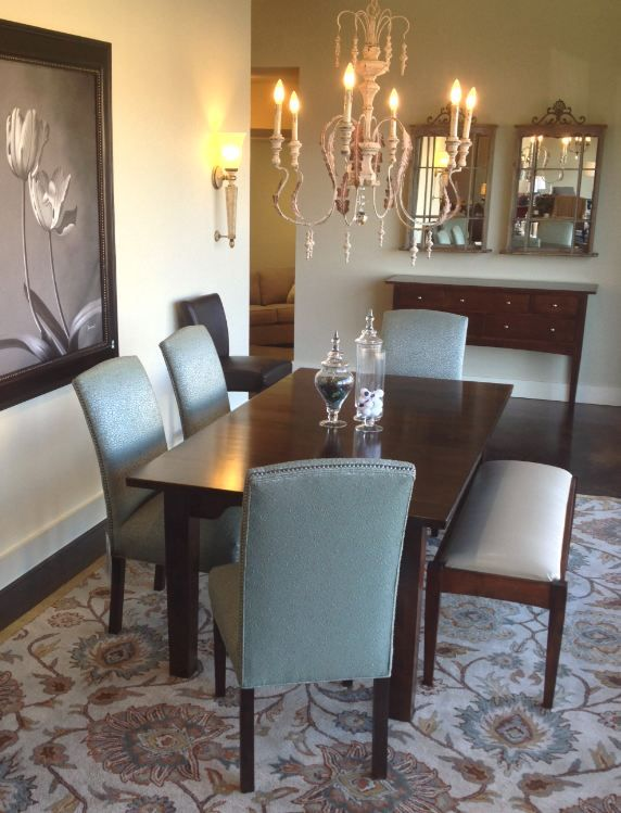 Becca Norwalk Chairs Paired With Appleton Furniture Braeburn Farm Table