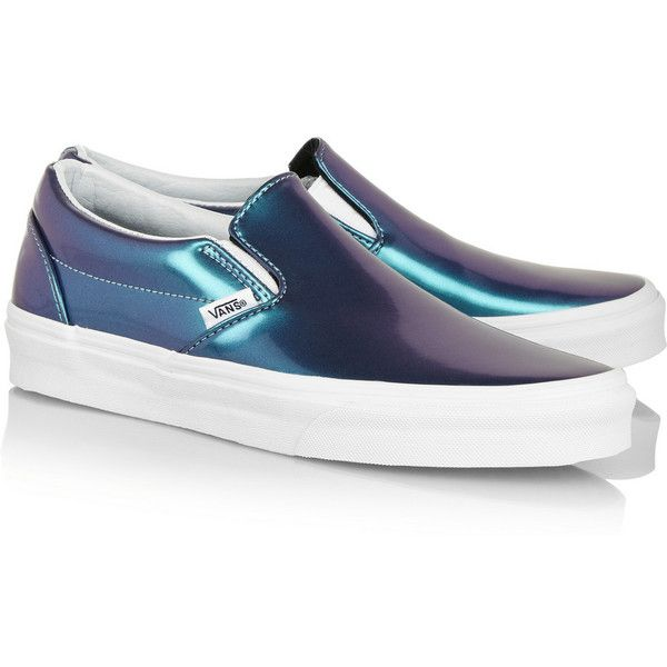 Vans Holographic leather slip-on