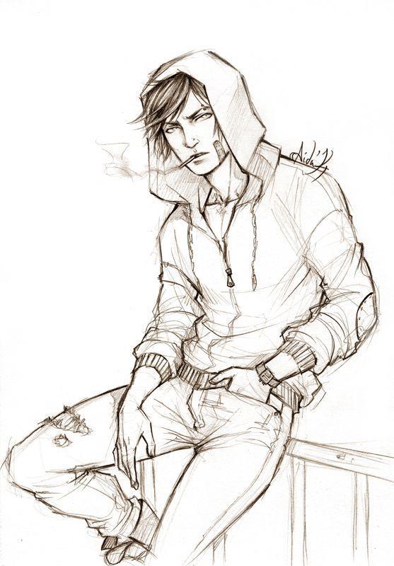 Photo of Random OC von Lehanan.deviantar … auf @deviantART. Zeichenskizze / Zeichnung #drawingprompts