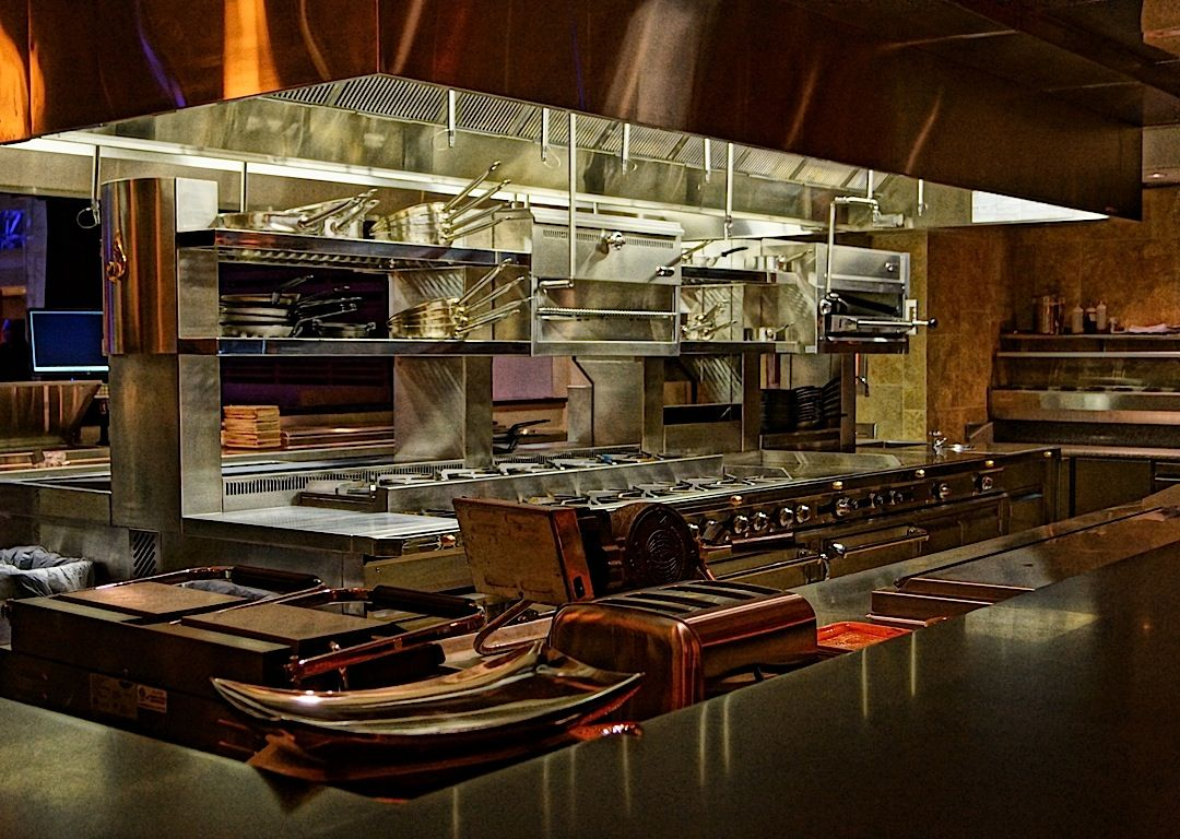 virtual gourmet restaurant kitchen designcool restaurantopen - Restaurant Open Kitchen Design
