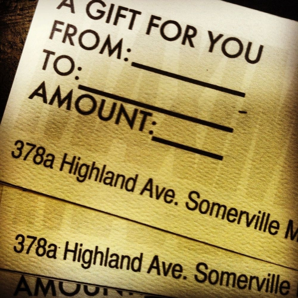 Gift certificate gifts cookie dough cafe baking