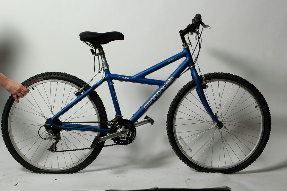 Blue Aluminum Cannondale M300 Cad1 Cycling Hybrid Mountain ...