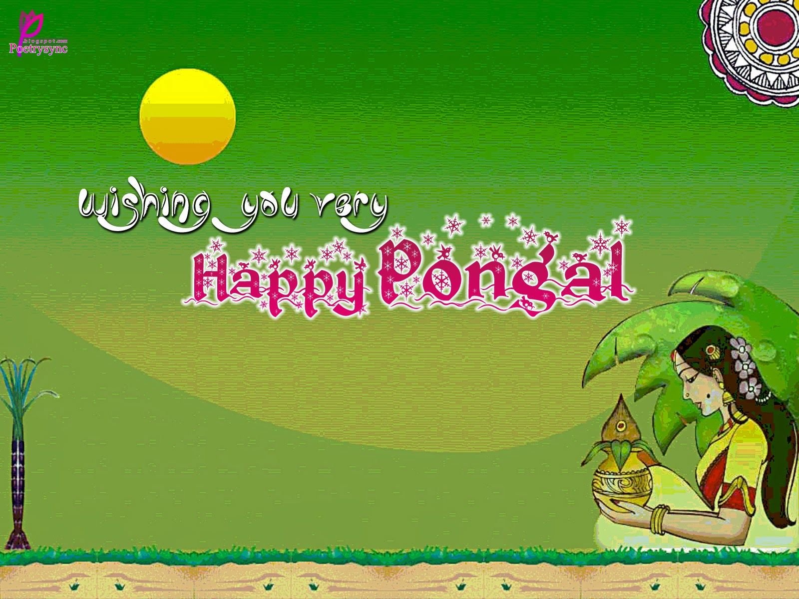 happy harvest festival celebration pongal happy pongal wishes card pongal wishes picture card and sms