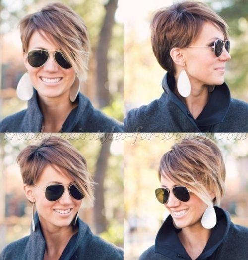 Short Hairstyles With Long Bangs Short Hair Long Short Hair Styles Short Hair Long Fringe Hair Styles