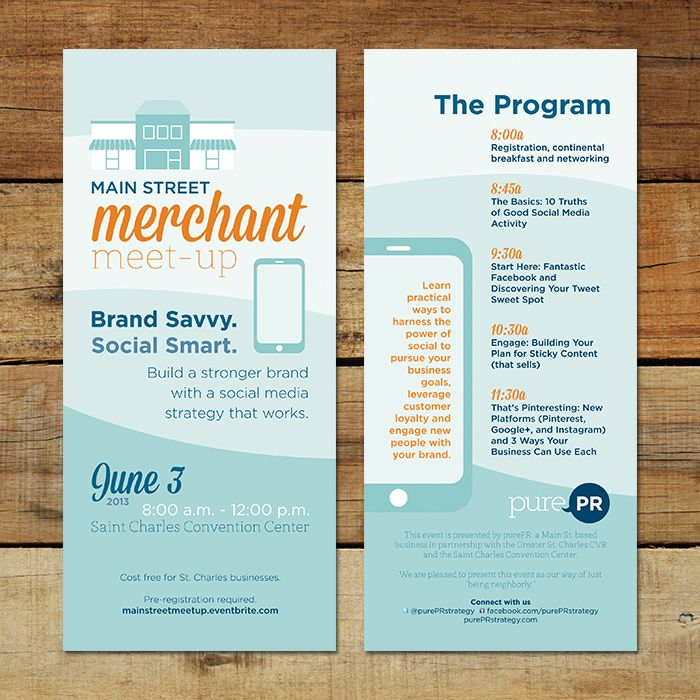 Marketing Rack Cards  BrochureFlyer Design