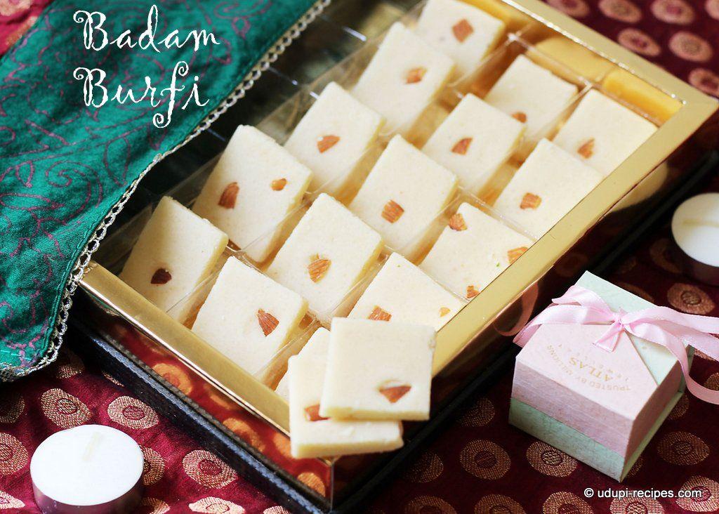 Badam burfi almond burfi recipe diwali sweets recipe indian badam burfi almond burfi recipe diwali sweets indian dessertsindian forumfinder Gallery