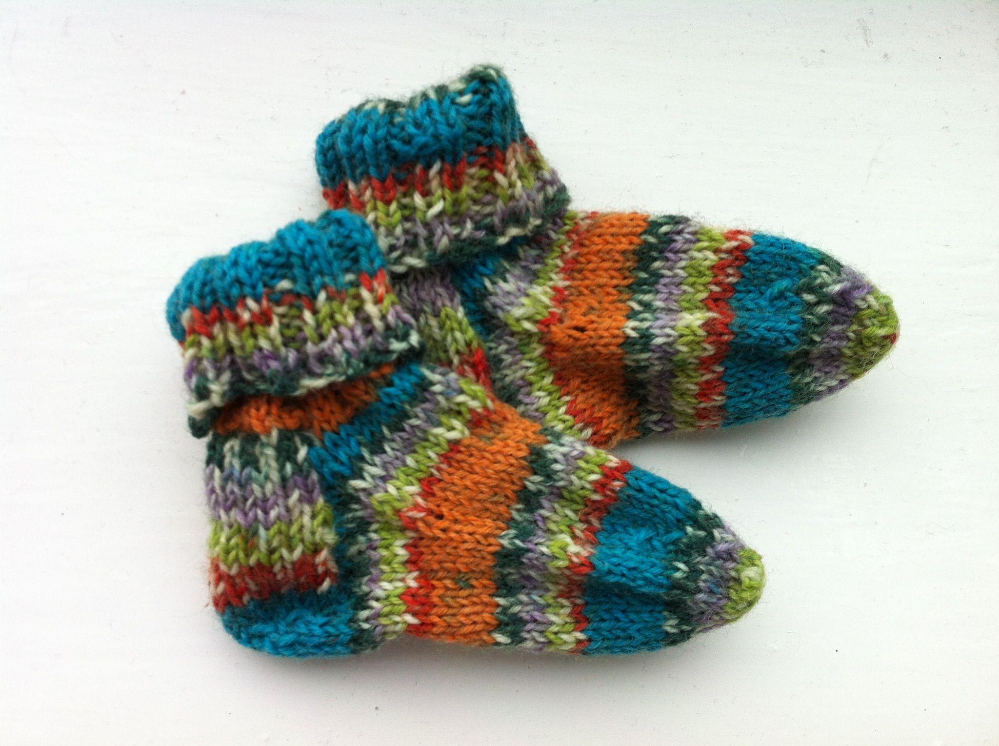 Lynsey's baby's socks...