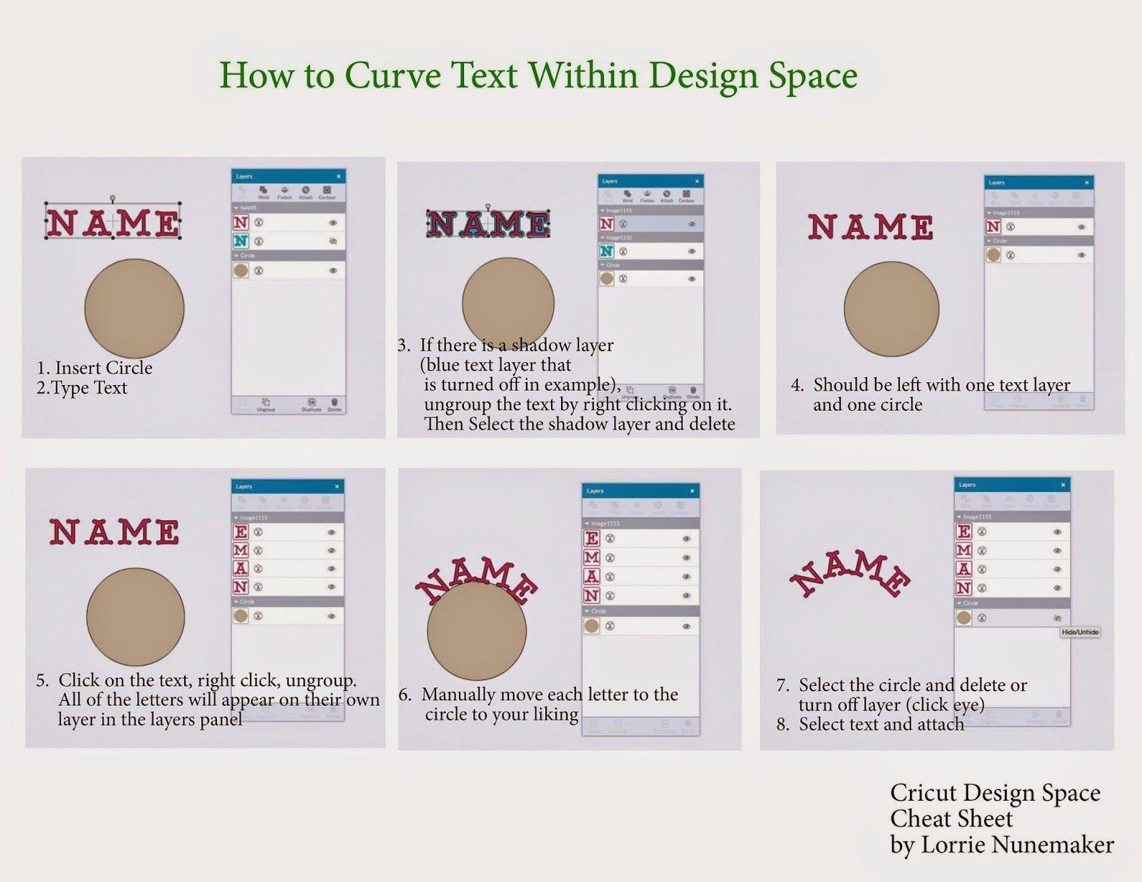 How To Curve Text In Cricut Design Space Cricut Explore Tutorial Lorrie S Story Cricut Explore Tutorials Cricut Tutorials Cricut Explore Projects
