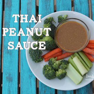 Thai Peanut Sauce Copycat Recipe!