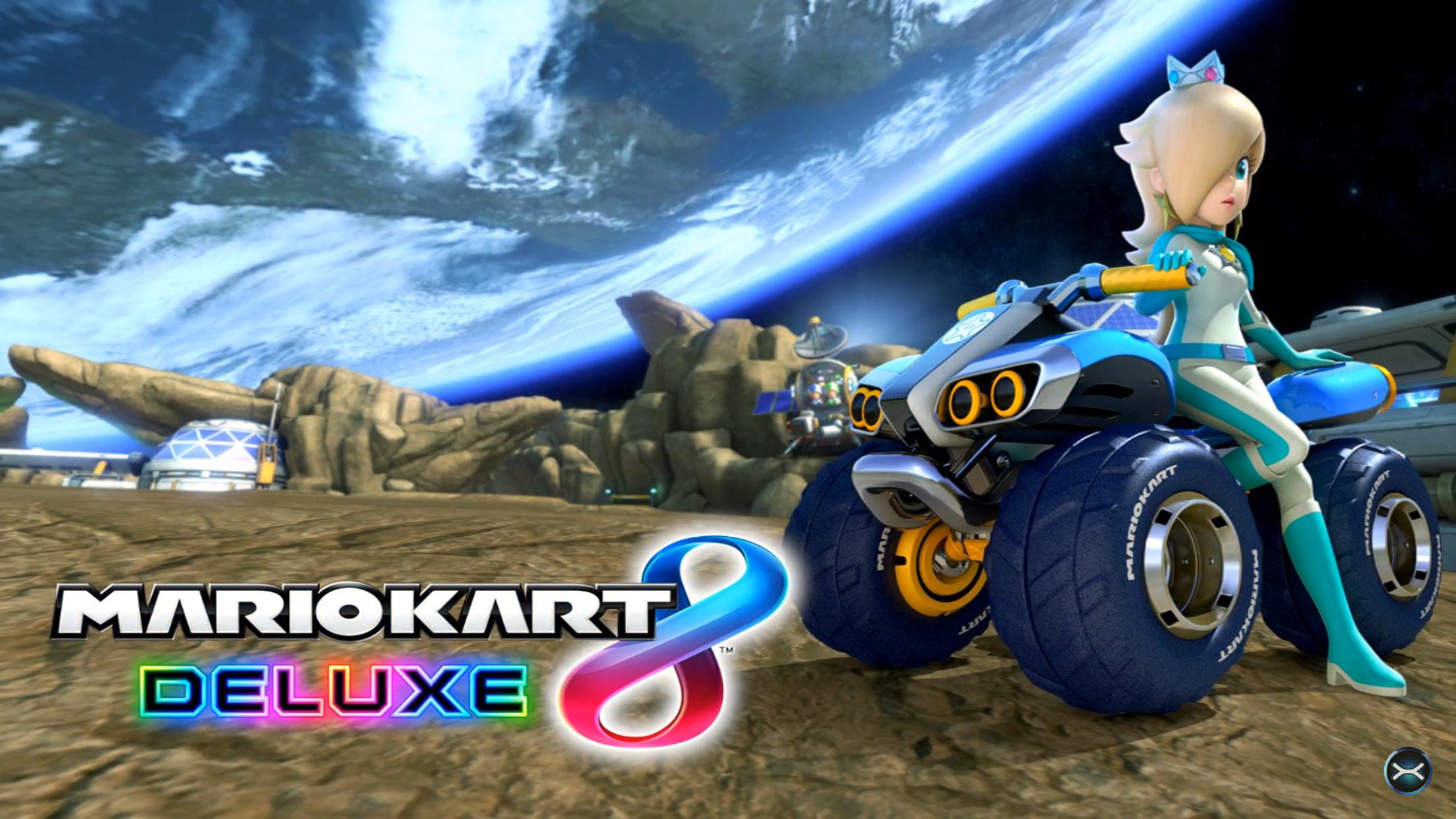 Donkey kong mario kart wii car tuning - Mario Kart 8 Deluxe Title Screen