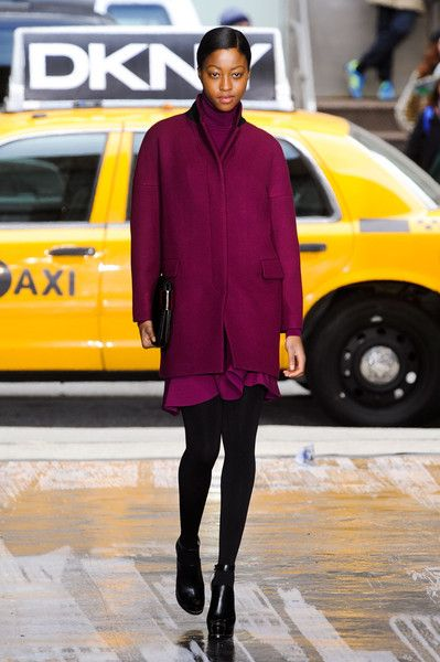 DKNY Fall 2012 New York fashion week