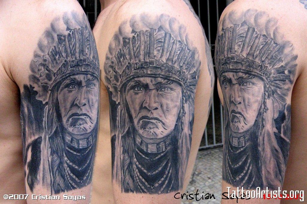 Tatuajes Tribales Indios Americanos Para Compartir Con Amigos 8