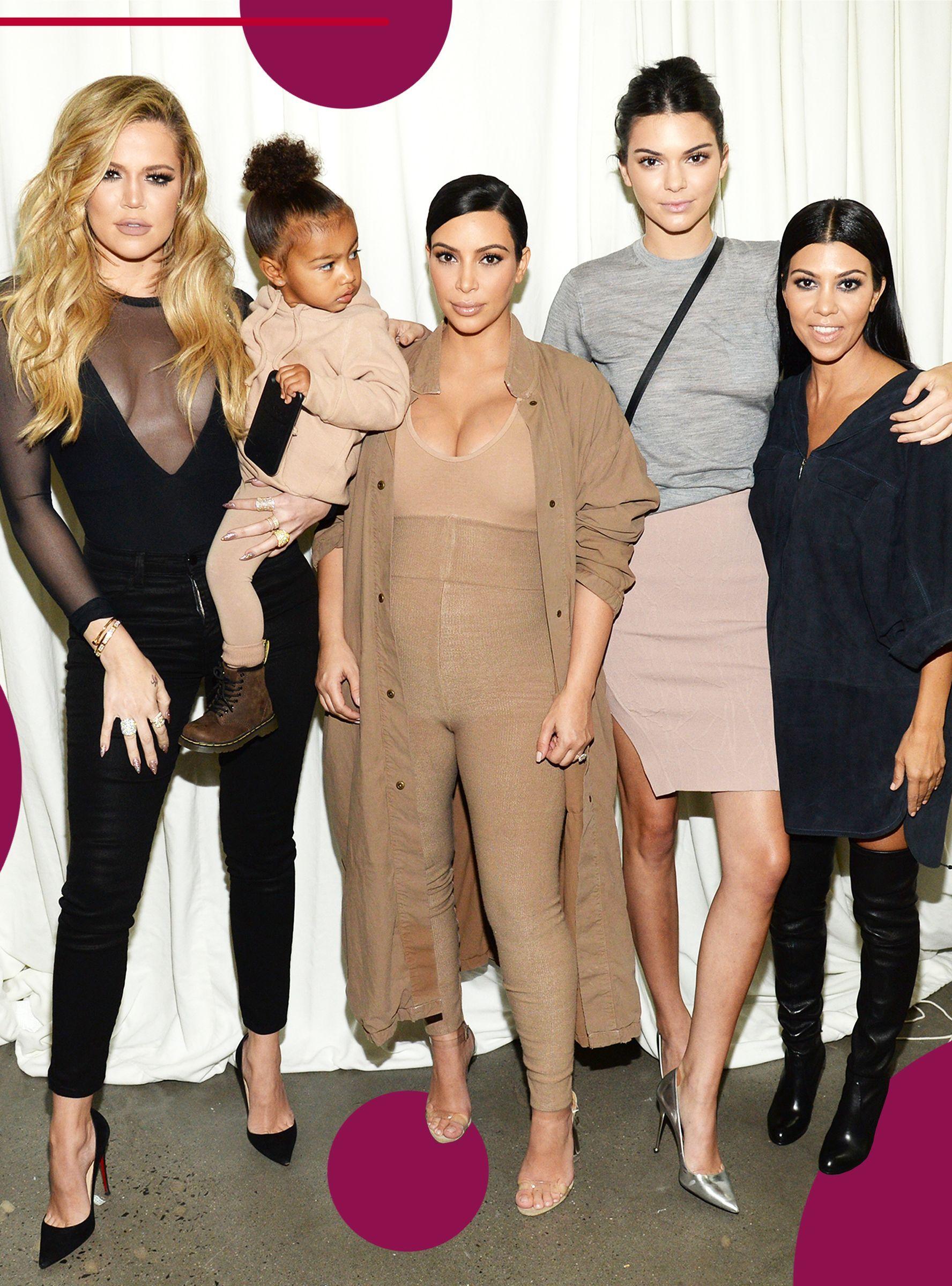 Kim Tells Us The Real Reason We Won T Get A 2018 Kardashian Christmas Card Kim Kardashian And North Celebrity Outfits Kardashian Jenner