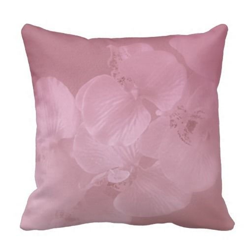 "Orchid Mist designed by Kay Novy (kkphoto1) 16""by 16"" throw pillow"