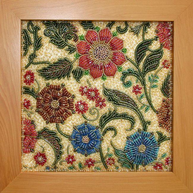 Japanese Bead Embroidery @Af\'s 25/2/13 | Японская вышивка бисером ...
