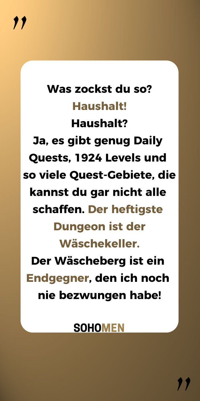 Photo of Funny sayings # household #games #quest #life #zocken #endgegner