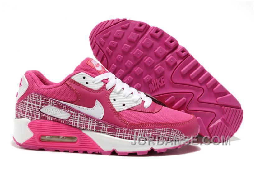 official photos 2a79d 77f9d k pa 2014 Dam Nike Air Max 90 Skor Rose Vita p n tet outlet sverige