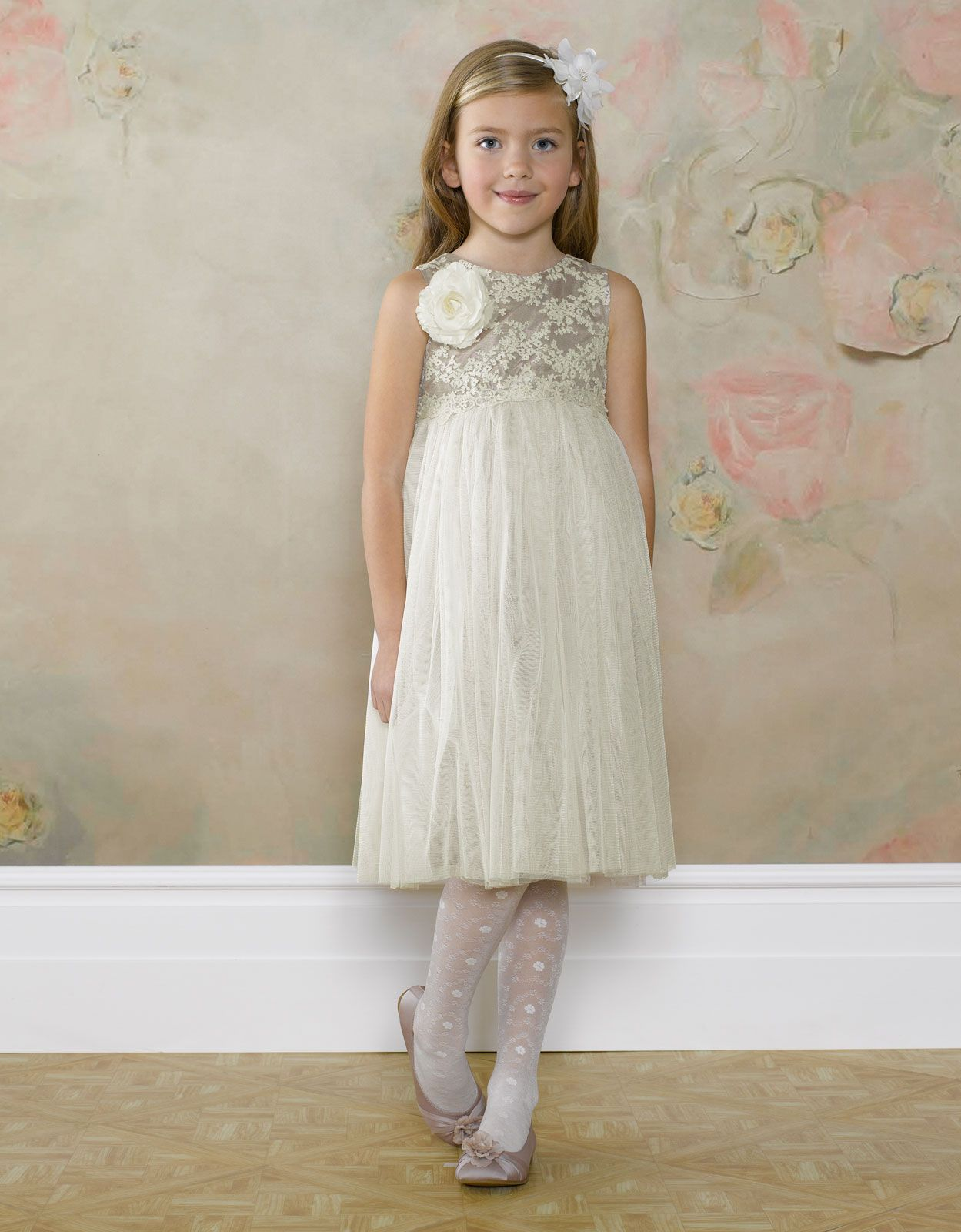 Christabel lace dress flower girl dresses flower girl