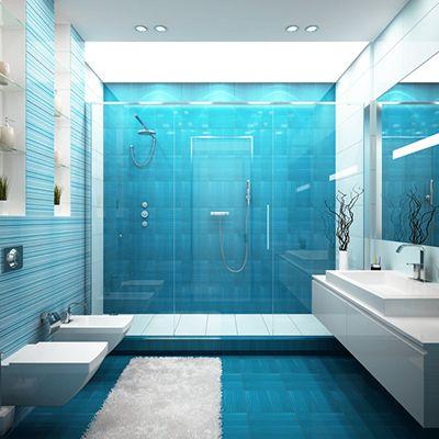 Bildergebnis für fliesen bad blau marmor Bäder Pinterest - fliesen fürs badezimmer bilder
