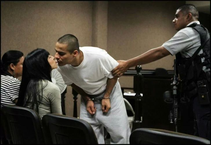 man kisses wife after being convicted - #convicted #counting #kisses #man #wife