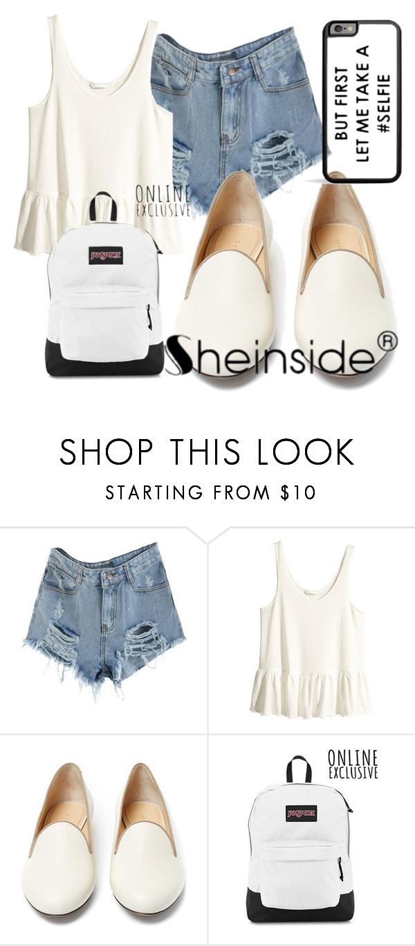 """""""Untitled #439"""" by sara-bitch1 ❤ liked on Polyvore featuring H&M and Charlotte Olympia"""