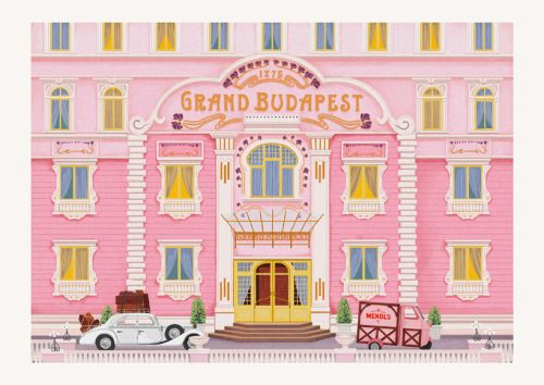 Wish you were here, Wes Anderson postcards