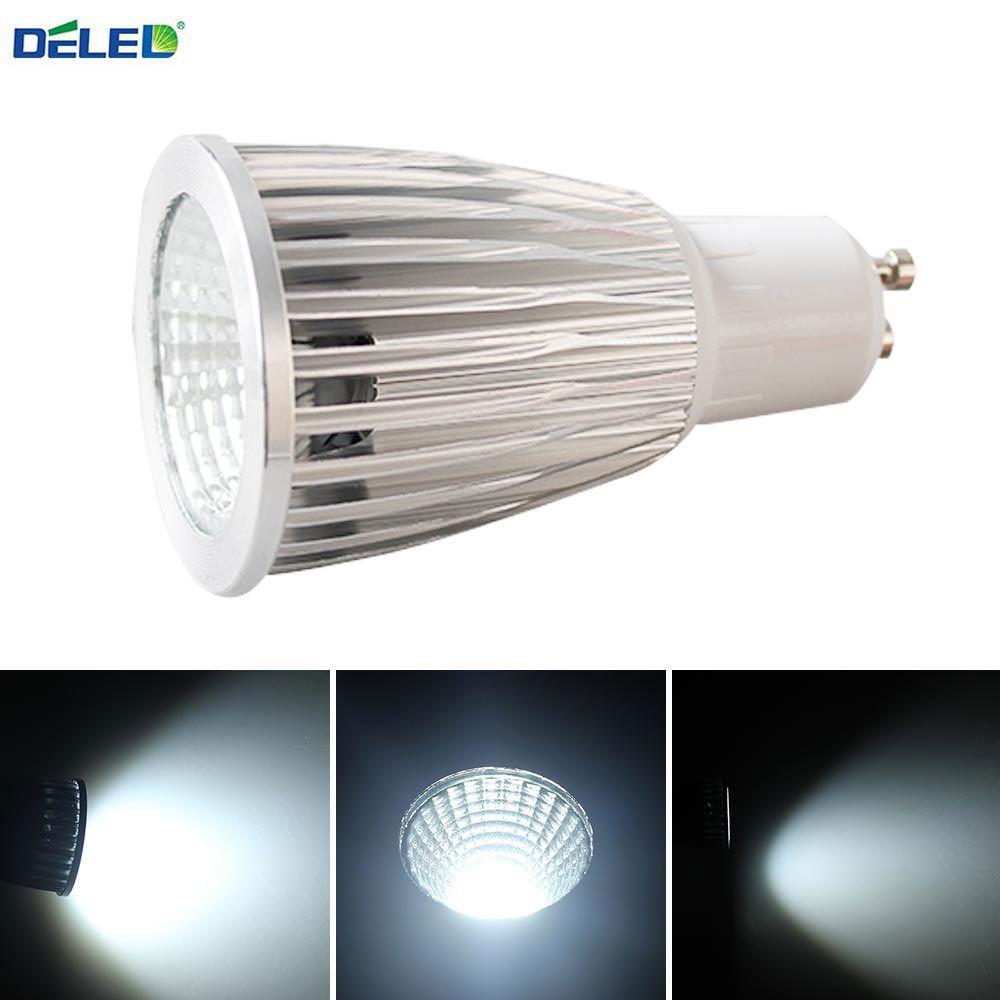 Deled Cob Gu10 E27 Mr16 Dimmable Led Led Lights 5w 7w Cool White Sport Light Lamp High Power Bulb Lamps Dc12v Ac 110v 220v 2 Dimmable Led Lamp Light Led Lights