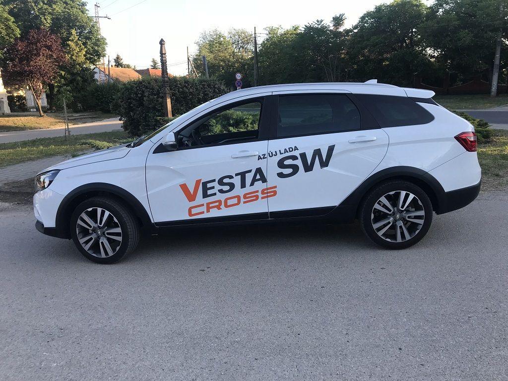 Lada Vesta Sw Cross Teszt Lada Vesta Vesta Cross