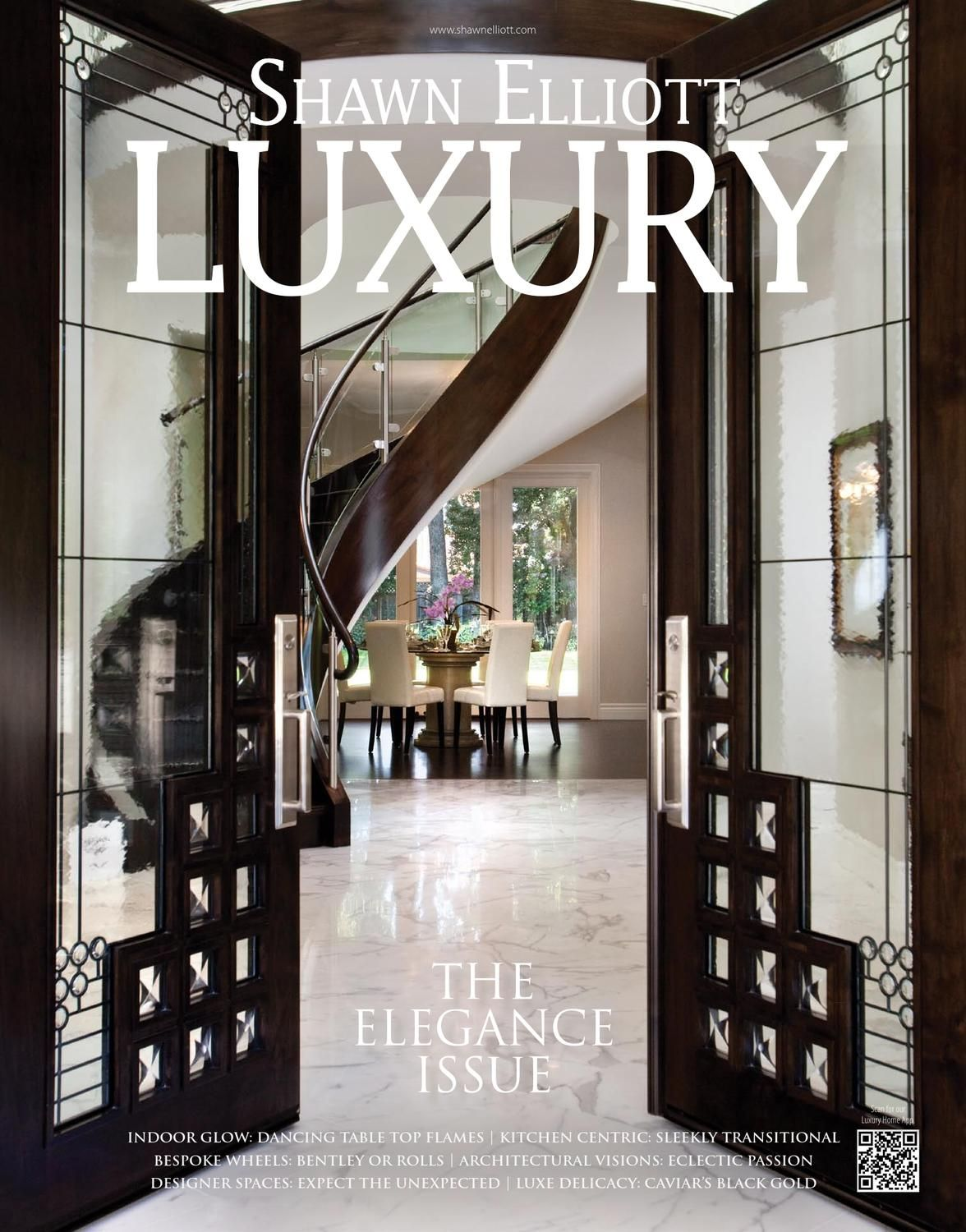 Shawn Elliott LUXURY Magazine - The Elegance Issue