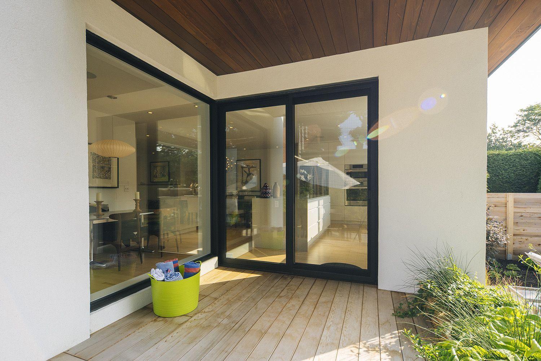 Architecture / Contemporain / Porte Patio / Terrasse // Contemporary /  Patio Door