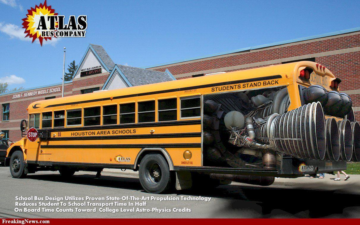 Atlas School Bus Now We Are Talkin School Bus Bus School Bus