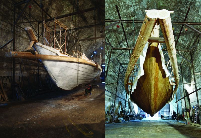Maritime Museum of Crete - Exhibition of Ancient Naval Architecture (Shipyard MORO)
