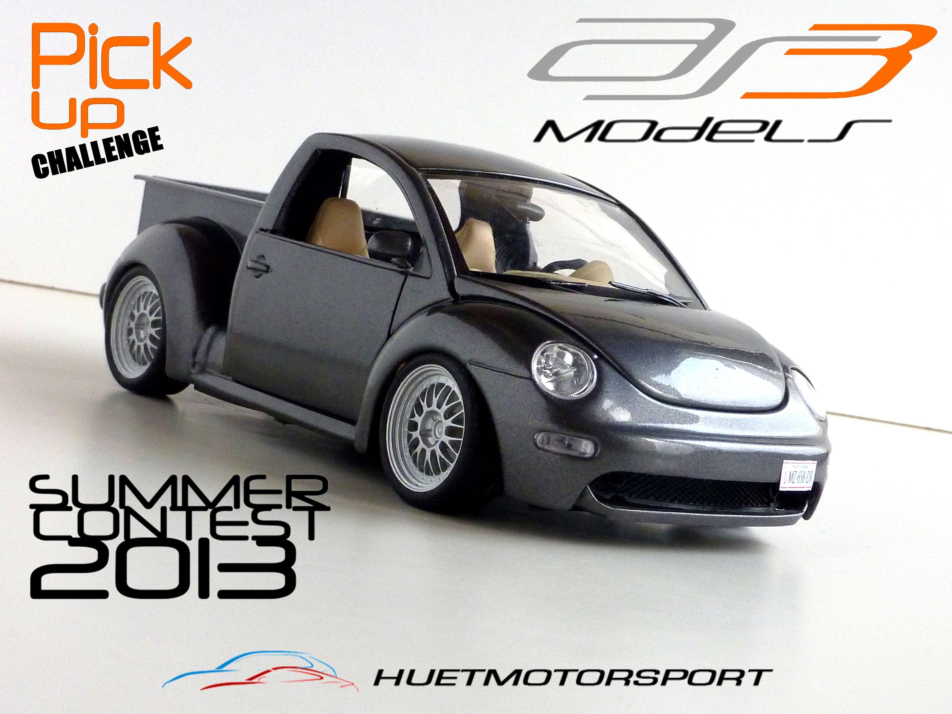 New beetle pickup 1 18 by huetmotorsport tag vw volkswagen newbeetle