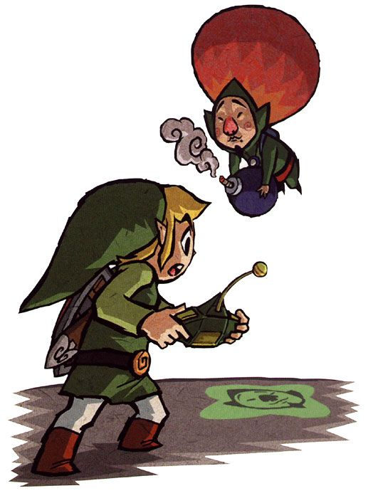 Legend Of Zelda Wind Waker Link Tingle Dont Like Tingle