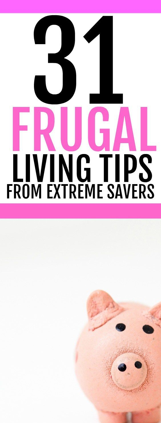 Want to start living a more frugal life? If you want some money saving ideas, check out this list of tips that will help you to save money and live frugally. These frugal living ideas & money saving tips will increase your wealth and let you live a simpler life. Learn from extreme cheapskates how you can cut costs on your household bills.