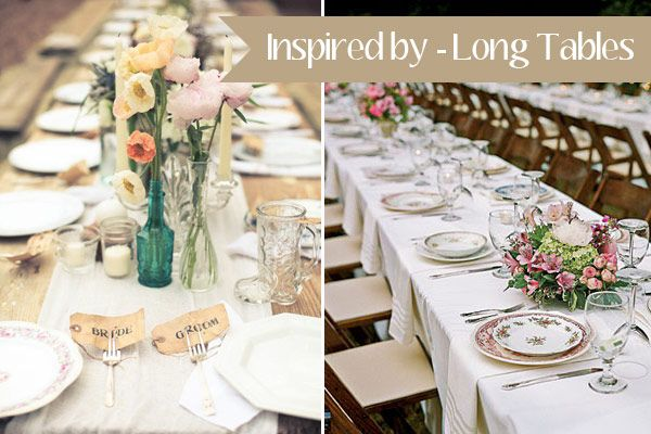 Long Tables Wedding Ideas & Long Tables Wedding Ideas | Table wedding Wedding breakfast and ...