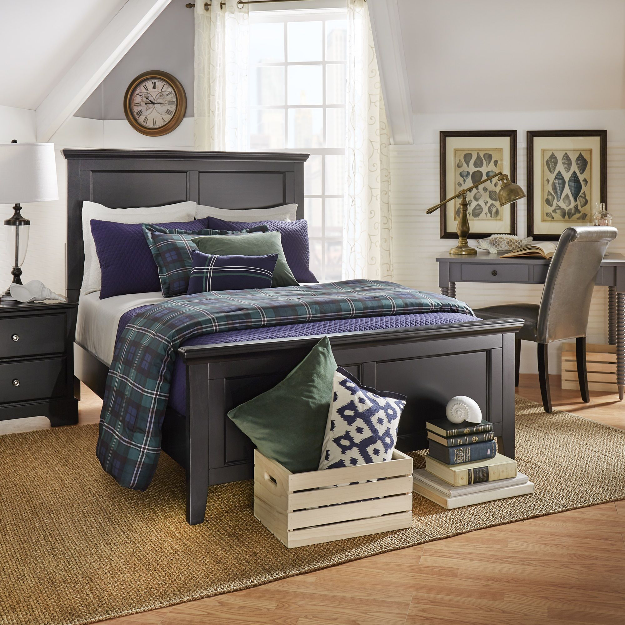 INSPIRE Q Preston Wood Panel Bed by IQ Kids