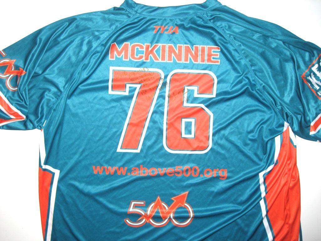 6462f6c3 AJ Francis Worn & Autographed Jimmy Wilson's Charity Softball Game ...