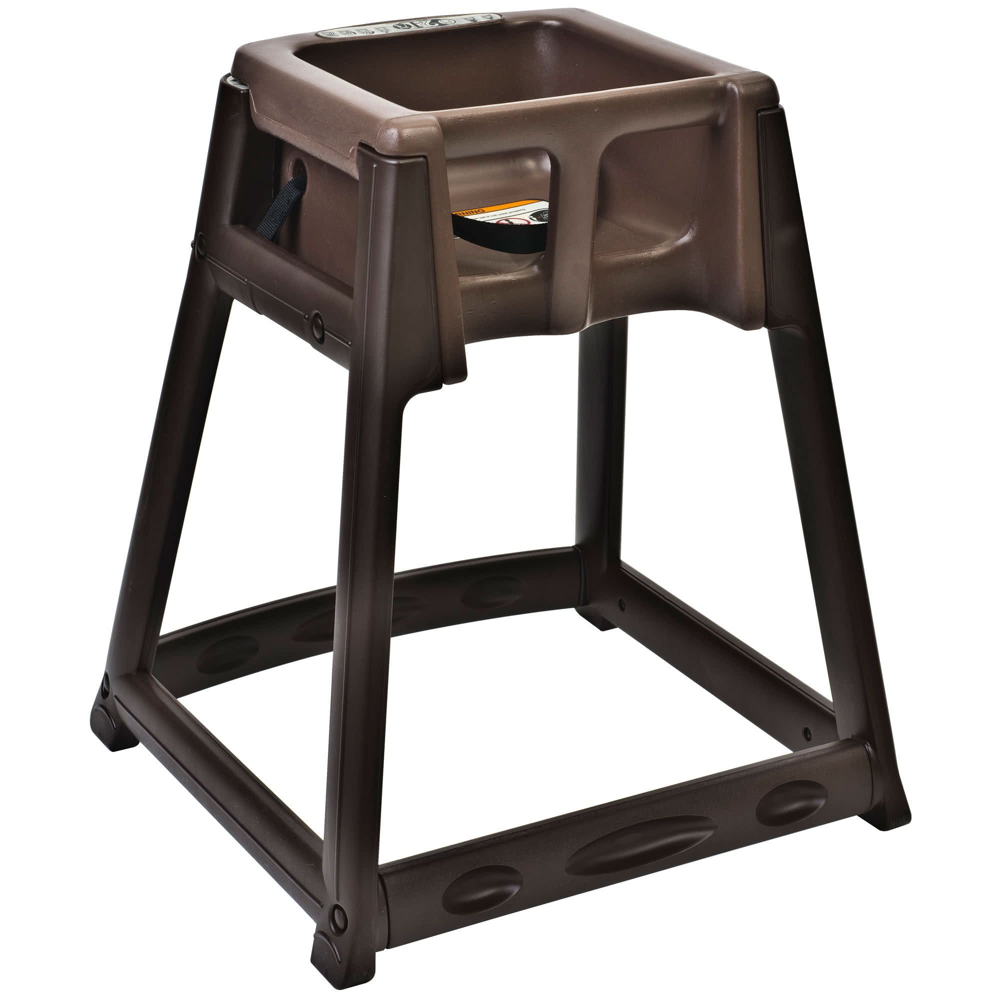 Koala Kare KB866 09 KidSitter Brown Convertible Plastic High Chair