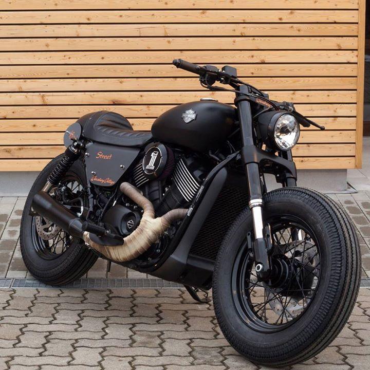 Harley Davidson Street 750 Customized