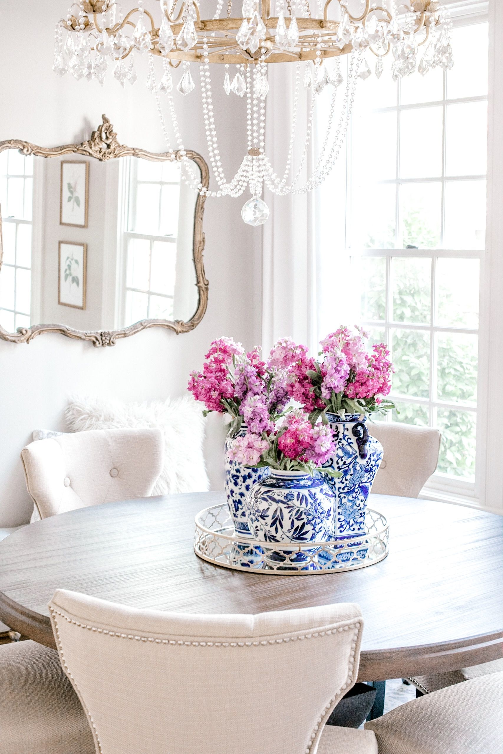 New House Updates Volume Ii Kinsey Walsh Round Dining Room Table Round Dining Room Dining Room Style
