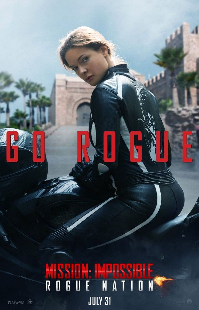 New Missionimpossible Trailer Features The Return Of Luther Stickell Led Zeppelin Rebecca Ferguson S Body And Tom Cruises Reincarnation Mission Impossible Rogue Nation Rebecca Ferguson Mission Impossible Rogue