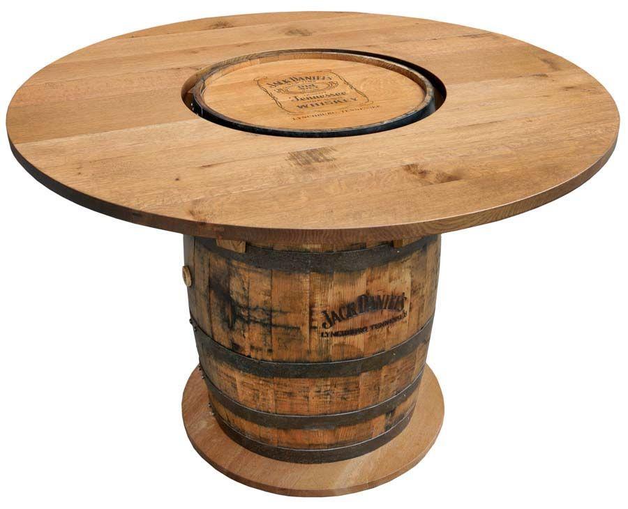 Jack Daniels Whiskey Barrel Furniture Ideas