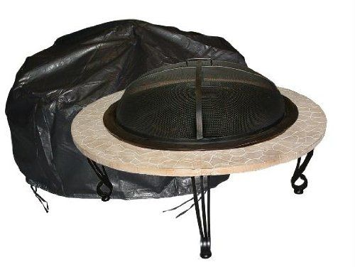 CLICK IMAGE TWICE FOR PRICING AND INFO :) #patio #chiminea #covers #firepit #cover #patiocovers #chimineacover #outdoor #firepitcover SEE MORE chiminea and firepit cover at http://zpatiofurniture.com/category/patio-furniture-categories/patio-furniture-covers/chiminea-and-fire-pit-covers/ -  Fire Sense 2126 41″ Diameter Round Fire Pit Vinyl Cover « zPatioFurniture.com