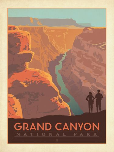 Anderson Design Group Studio Store National Park Posters Travel Posters Vintage Travel Posters